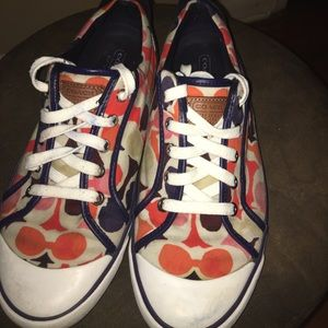 Coach shoes size 9.5